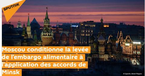 Реакция французских СМИ на заявление Лаврова о контрсанкциях
