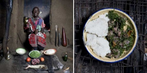 Чем кормят своих внуков бабушки из разных стран