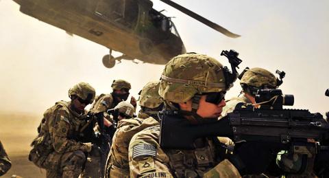 Трамп отправил вАфганистан …