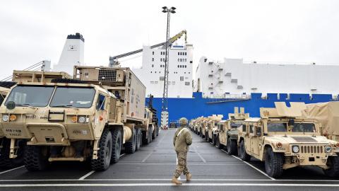 Американские танки едут на «…