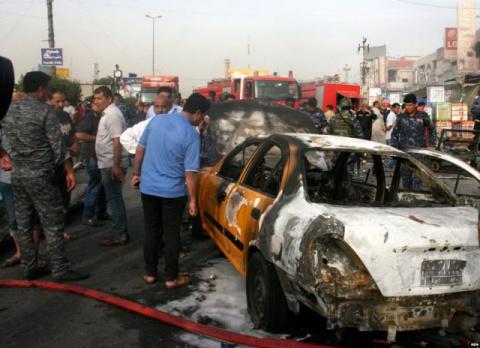 В Багдаде прогремел мощный в…
