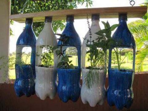 Что можно сделать из пластиковых бутылок (25 фото)