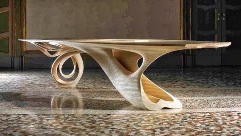 Изящные изгибы деревянных изделий