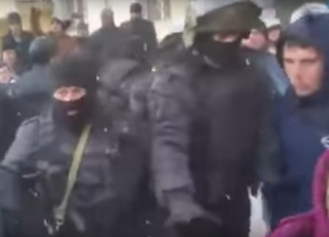 ФСБ пресекла крымско-татарский майдан