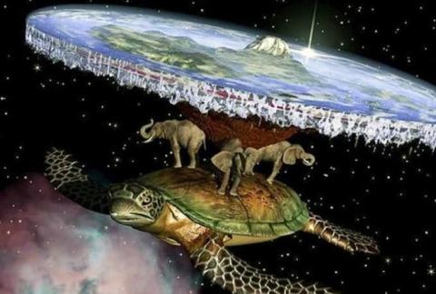 Как люди представляли Землю …