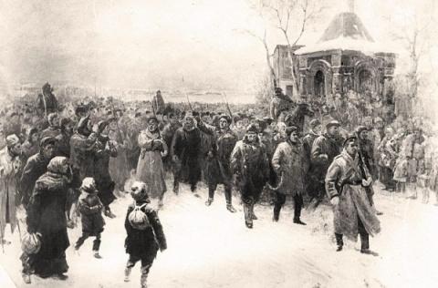 КРЕСТЬЯНСКАЯ РЕВОЛЮЦИЯ 1917