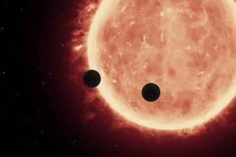 Недалеко от Земли ученые обнаружили три потенциально обитаемые планеты