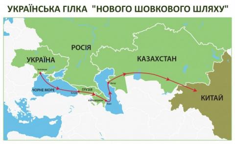 «Новый шелковый путь» пройдет через Россию, а не Украину