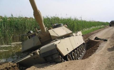 Американские танки успешно разрушают Польшу