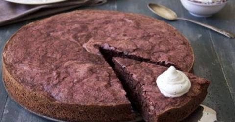 Шоколадный пирог без грамма муки: Просто тает во рту!