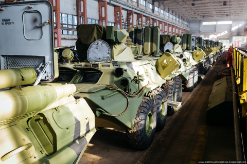 Как делают БТР: Арзамасский машиностроительный завод