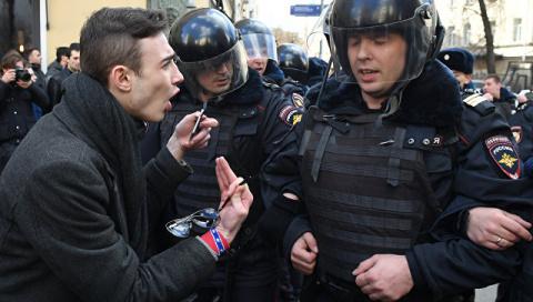 Пострадавший на акции протес…