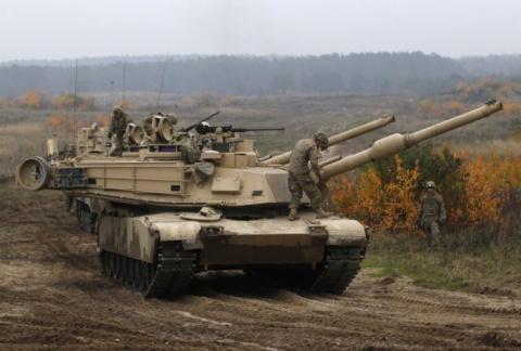 Бесполезный пафос: «танковый…