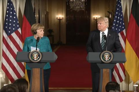 США вводят санкции против Европы