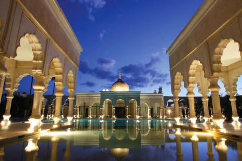 Экстравагантный отель Palais Namaskar в Марракеше