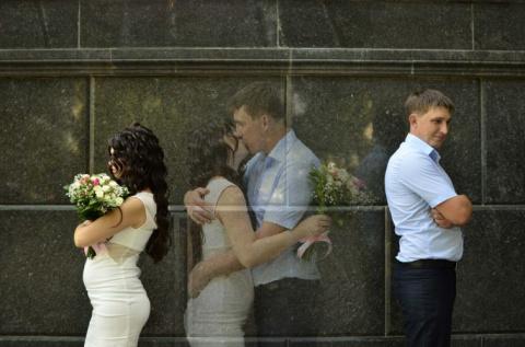 Это безумие?! Нет, это свадь…