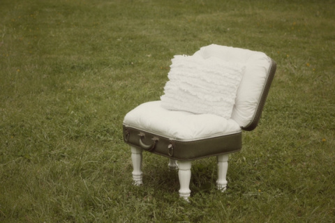 Удобный стульчик из старого …