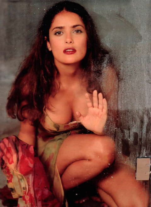 Лучшие фотографии сногсшибательной Сальмы Хайек из фото- сессий разных лет