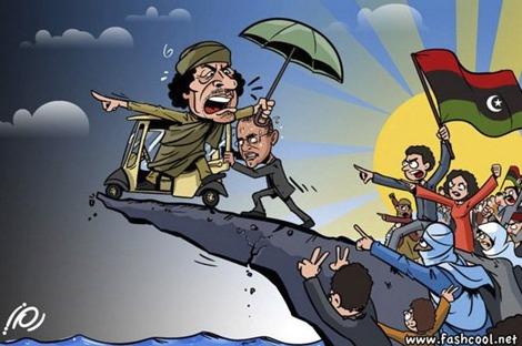 Как смерть Каддафи помогла з…
