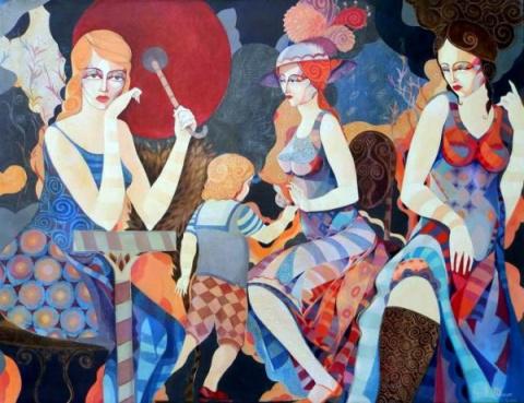 Болгарский художник Иво Петров