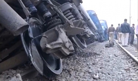 Железнодорожная катастрофа в…