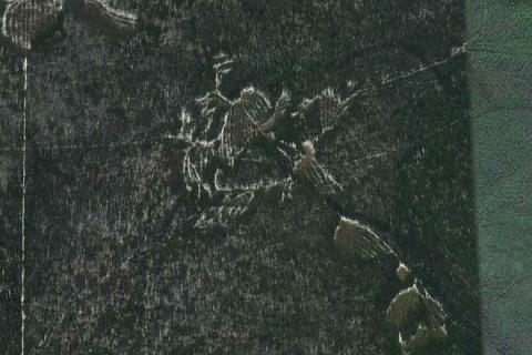 Мистические знаки проступили у легендарного перевала Дятлова