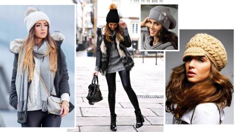 Модные шапки и береты