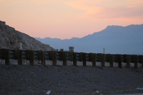 Закат в Неваде