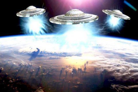 Вторжение инопланетян началось!!!