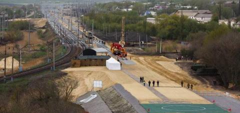 Железная дорога в обход Украины
