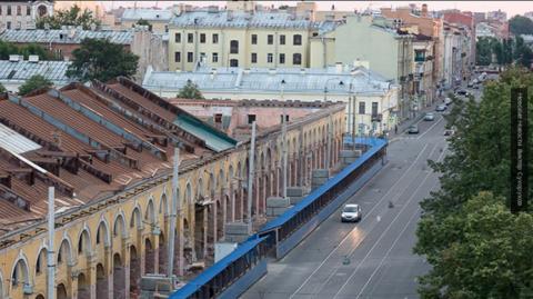 В Петербурге набережная Адми…