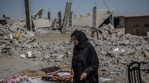 Ирак попросил Россию не допустить распада Сирии