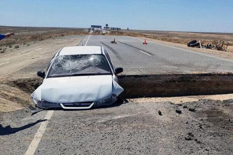 Казахстанец пытался повторить трюк из боевиков (но не смог)