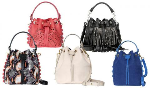 Элегантные женские сумки-меш…