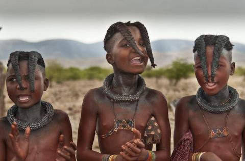 Красота в косе: традиционные прически стран мира