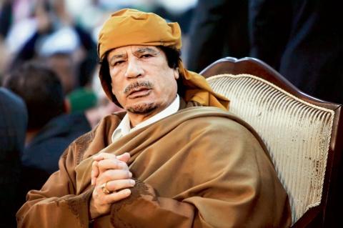 Вечная память тебе, Муаммар Каддафи