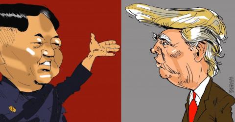 Санкции США против КНДР, где…