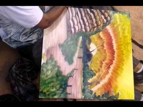 Бездомный художник