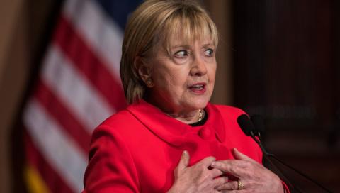 Старушка Клинтон предрекла Трампу судьбу Никсона