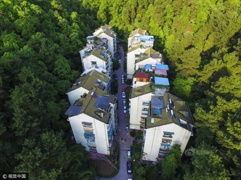 Экологически чистый район китайского города Гуйян
