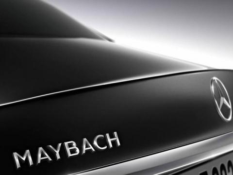 Mercedes приоткрыл внешность роскошного Maybach S600