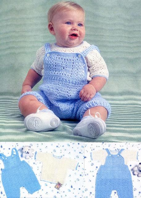 Вязание крючком для малыша. …