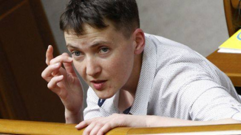 Савченко объяснила, зачем убили Гиви