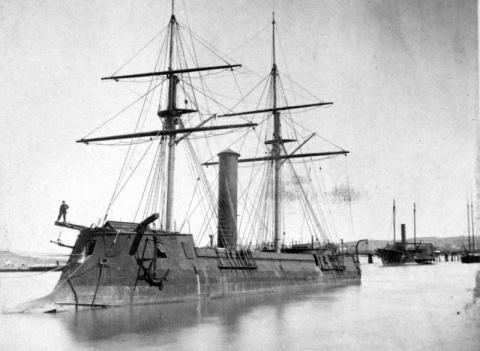 «Котетсу» – корабль необычно…