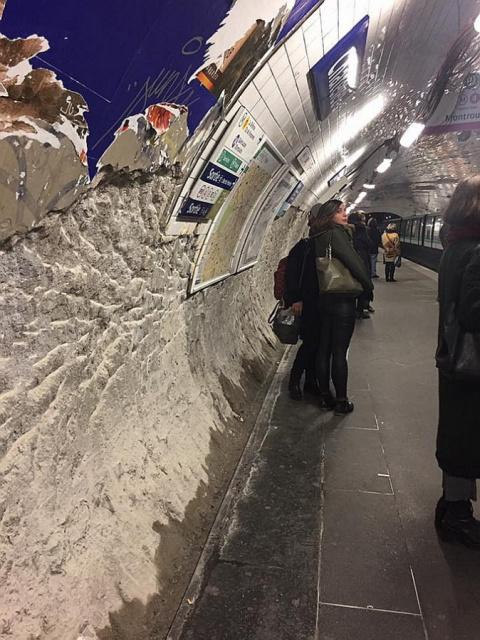 Виды метро Парижа ужаснули у…