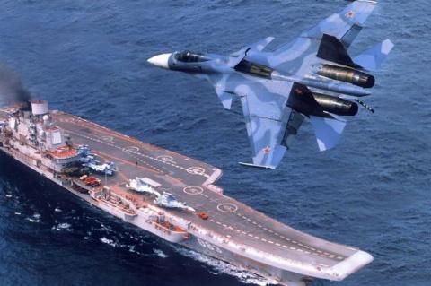 Военно-морской флот России в…