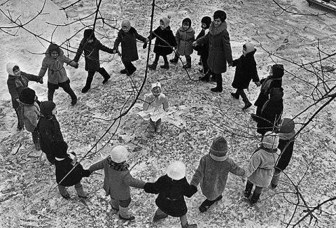 21 черно-белое фото советско…