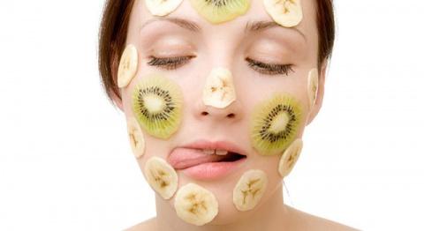 Маски для лица из яблока банана и киви