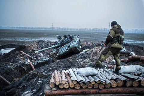 Донбасс под огнем: украински…