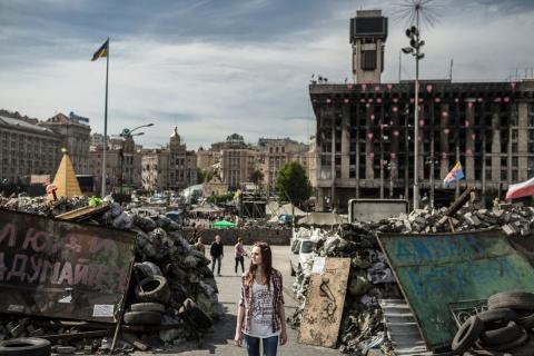 Фотопроект о там, как живут в провинции Украины